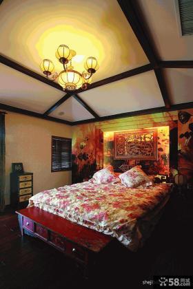 中式古典装修风格婚房设计