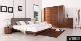 现代简约卧室装修设计图片大全