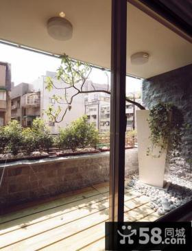 美式现代风格阳台设计效果图片