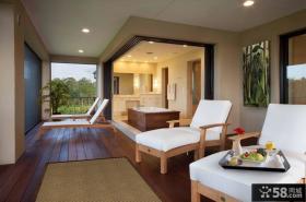 美式家居风格休闲区设计图片