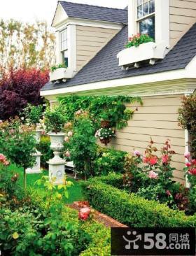 室外阳台花园设计效果图