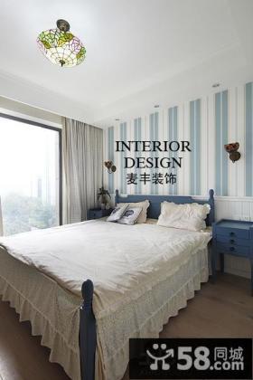 地中海风格小户型卧室装修图片