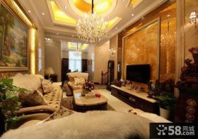 奢华混搭复式家居装潢案例