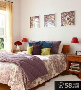 美式田园小卧室装修效果图大全2012图片