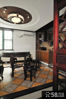中式古典餐厅图片