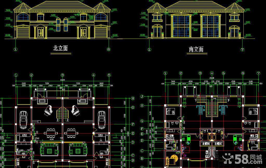 二層別墅設計效果圖