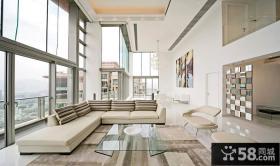 现代时尚风格客厅装修效果图