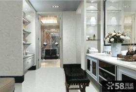 欧式新古典风格卧室釉面砖图片