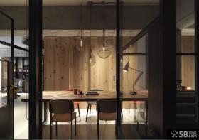 现代简约工业风格餐厅设计