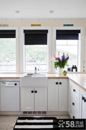 简欧厨房橱柜装修效果图