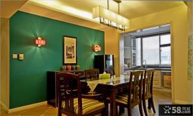 中式风格别墅室内餐厅效果图欣赏