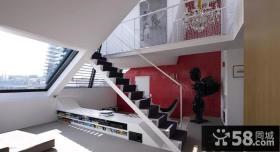 复式阁楼楼梯设计效果图