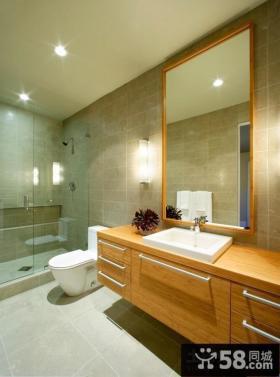 简约风格恒洁卫浴浴室柜图片