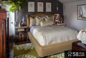 美式小户型卧室装修效果图大全2013图片