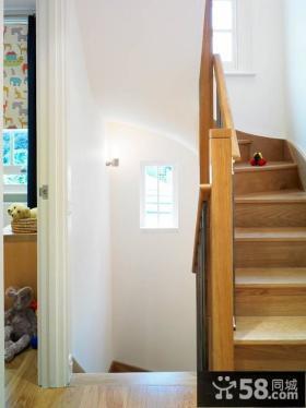 阁楼楼梯装修效果图片