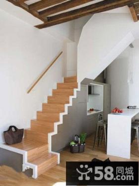 室内阁楼楼梯装修效果图欣赏