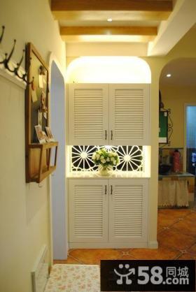 家装玄关鞋柜隔断效果图片欣赏