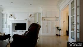 美式风格别墅客厅家居图片欣赏
