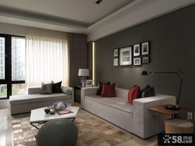 现代风格室内设计客厅效果图大全