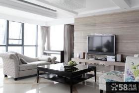 石材客厅电视背景墙装修效果图大全2013