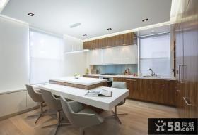 90平米房屋厨房餐厅装修效果图