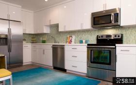 小户型家居厨房整体橱柜装饰效果图