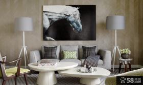 现代风格沙发背景墙设计效果图欣赏