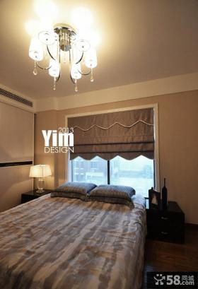 10平米现代卧室装修图