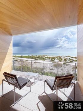 创意现代阳台空间装修案例