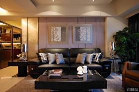 时尚家装客厅装饰画图片