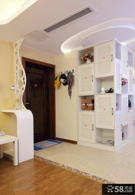 小户型进门玄关鞋柜装修效果图欣赏