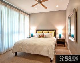 9万打造浪漫温馨欧式小户型卧室窗帘装修效果图大全2012大全