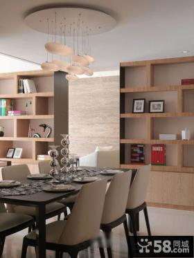 简约两室两厅家居餐厅装修效果图