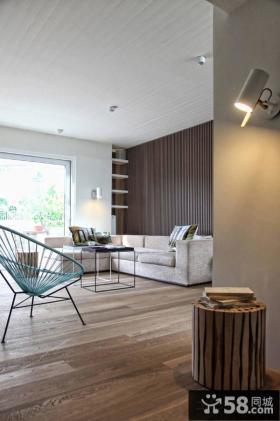 日式家居客厅玄关装修设计