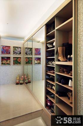 入户玄关鞋柜设计图