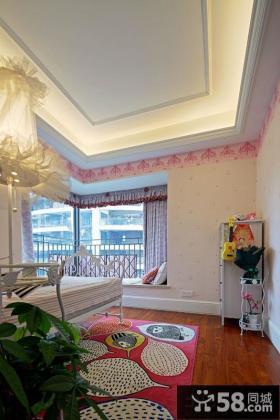 现代欧式风格卧室吊顶效果图欣赏