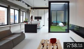 极简风格小复式楼房室内装修图片大全