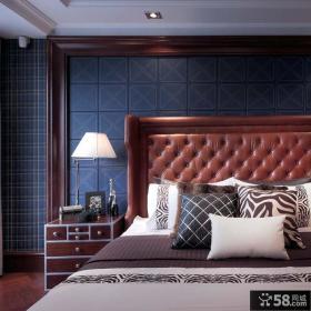 美式深重混搭卧室装修展示