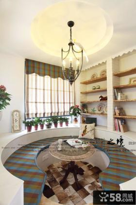 田园风格小户型客厅装修设计