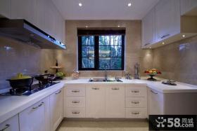 欧式厨房图
