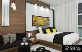 简约现代复式家居卧室装饰效果图欣赏