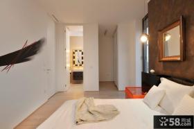 日式家居卧室装潢效果图