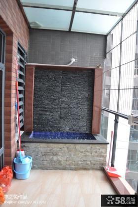 阳台装修设计效果图图片