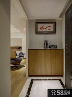 简约风格室内鞋柜装修设计图片