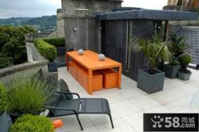家庭设计装修开放式阳台图片