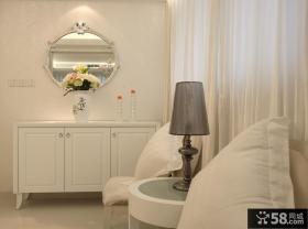 现代风格卧室角柜图片