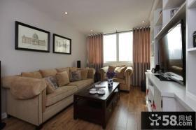 家装设计小客厅电视背景墙