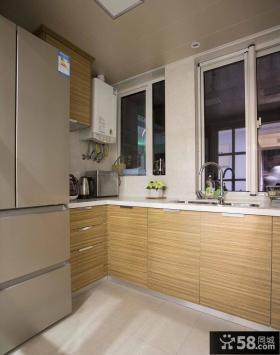 日式简约小户型厨房装修效果图