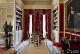 欧式古典风格别墅餐厅设计图片