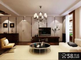 简约时尚设计客厅电视背景墙效果图大全